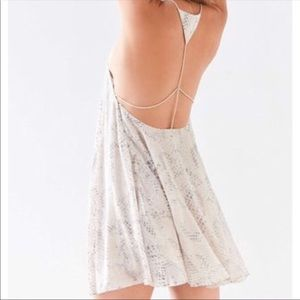 NWT Urban Outfitters- Silence + Noise Open Dress